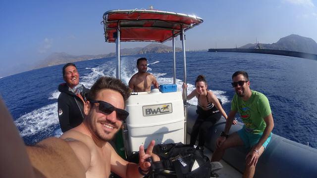 Diving in Spain, Cartagena - By Dani